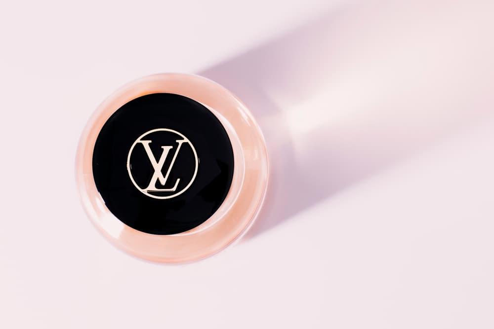 louis vuitton le jour se leve perfume fragrance scent custom bottle review Jacques Cavallier Belletrud