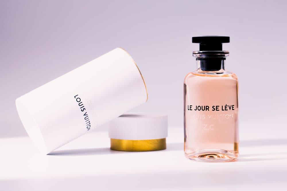 8ed5cd33dc51 louis vuitton le jour se leve perfume fragrance scent custom bottle review  Jacques Cavallier Belletrud