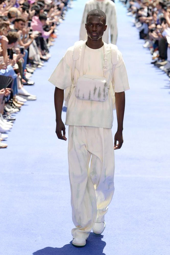 Virgil Abloh Louis Vuitton Paris Fashion Week Men's 2019 Chest Rig