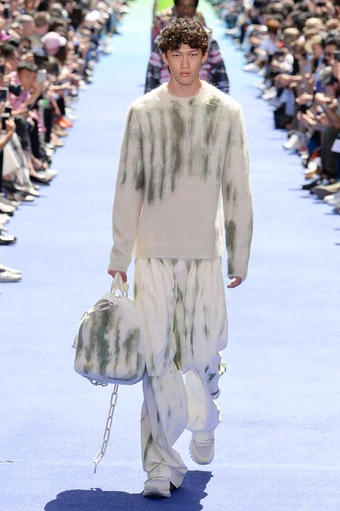 Virgil Abloh Louis Vuitton Paris Fashion Week Men's 2019 Tie Dye