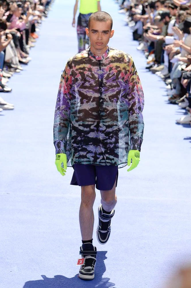 Virgil Abloh Louis Vuitton Paris Fashion Week Men's 2019 Graphic Jacket