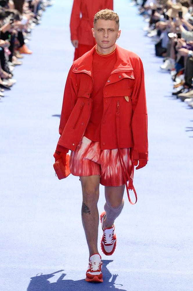 Virgil Abloh Louis Vuitton Paris Fashion Week Men's 2019 Blondey McCoy