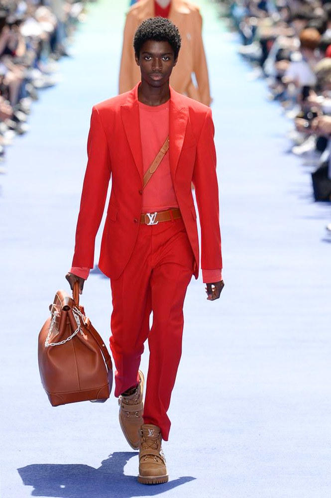 Virgil Abloh Louis Vuitton Paris Fashion Week Men's 2019 Brown Bag