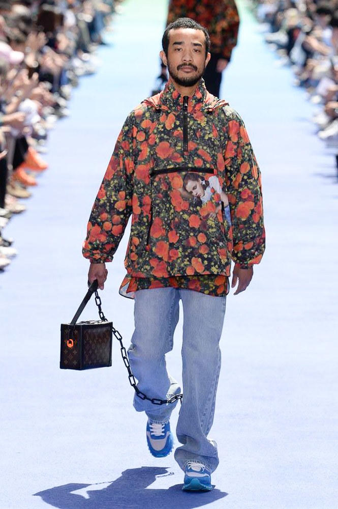 Virgil Abloh Louis Vuitton Paris Fashion Week Men's 2019 Graphic Floral Jacket Monogram Mini Trunk