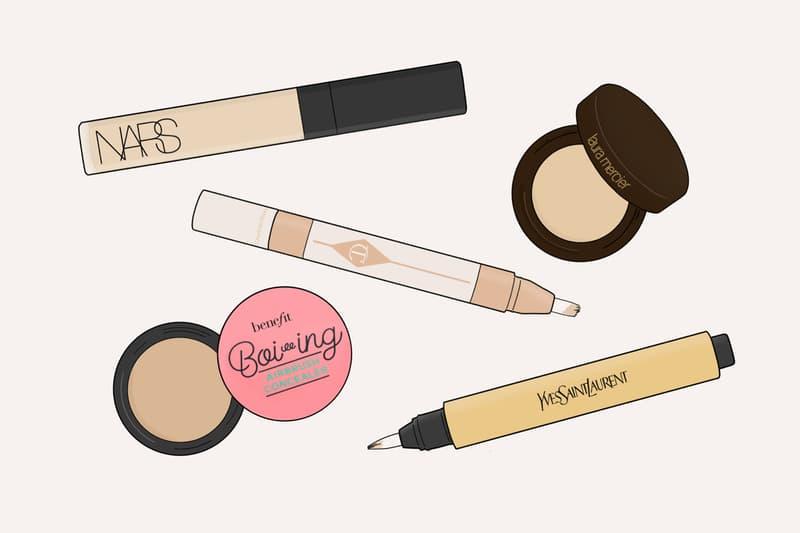 Concealers Makeup Beauty Illustration YSL NARS Radiant Creamy Concealer Benefit Cosmetics Charlotte Tilbury Laura Mercier