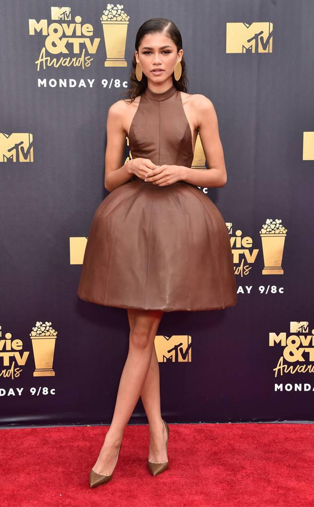 MTV Movie & TV Awards Best Dressed Red Carpet Kim Kardashian Zendaya Halsey Yara Shahidi Tiffany Haddish