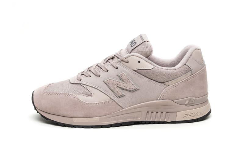 New Balance 840 Flat White Pink