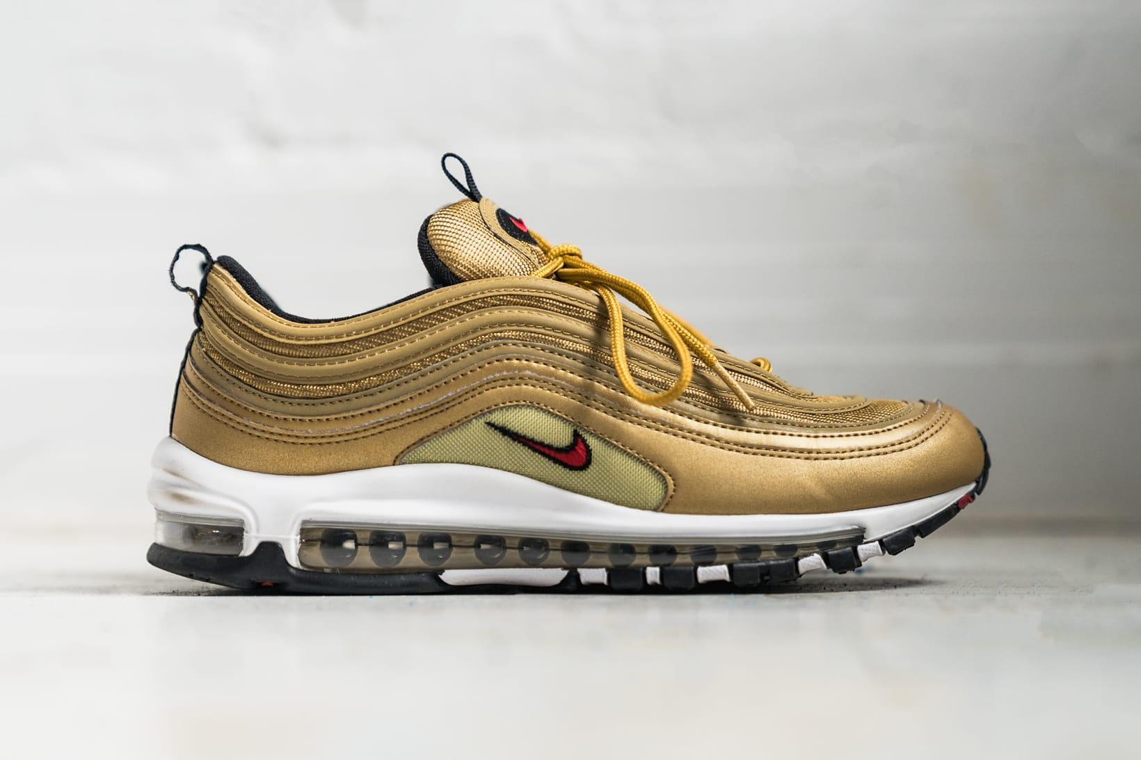 Nike Air Max 97 in Metallic Gold