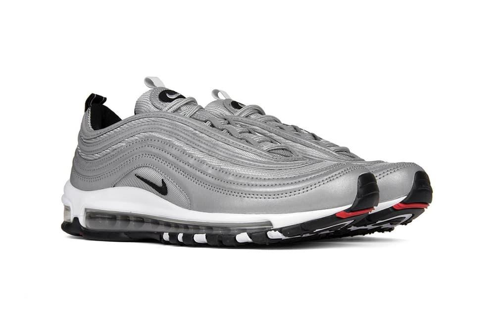 Nike Air Max 97 Premium Metallic Reflective Silver