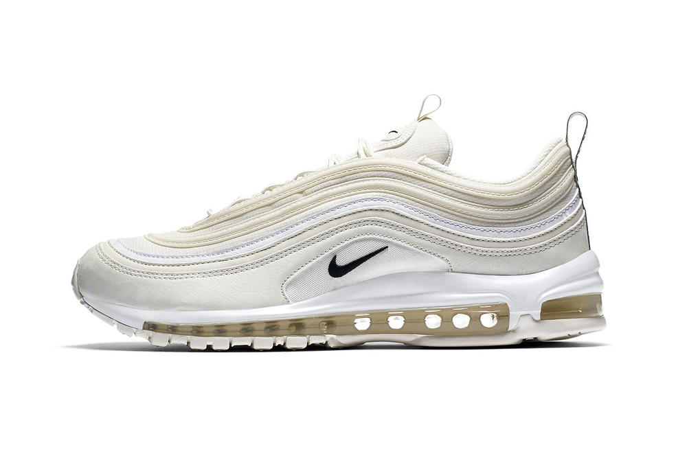 nike air max 97 reflective logos cream off white