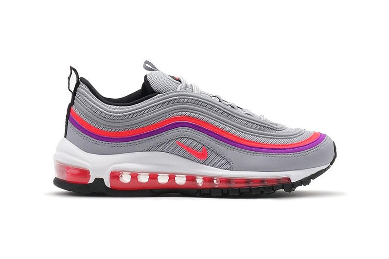 wholesale dealer cdc63 75850 Nike Releases Air Max 97 in Wolf Grey Solar Red | HYPEBAE