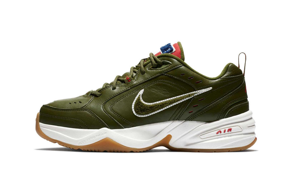 Nike Air Monarch Father's Day Green White