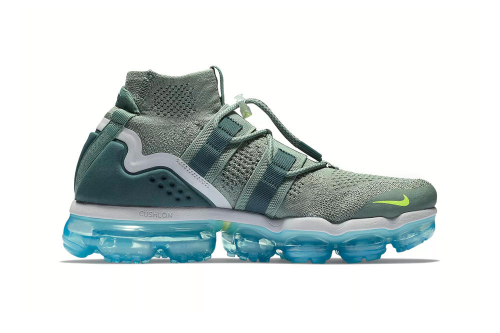 Nike Air VaporMax Flyknit Utility Clay Green Barely Grey