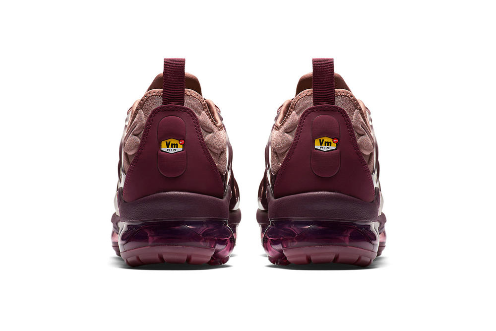 premium selection c62d8 cd82d Nike's Air VaporMax Plus in Mauve and Burgundy | HYPEBAE