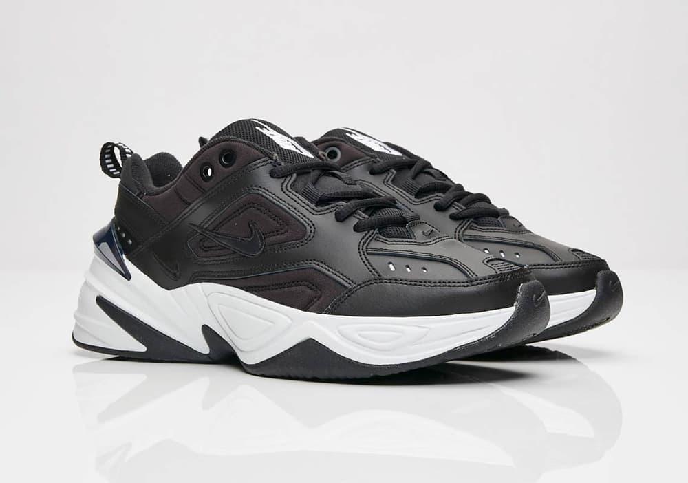 Nike M2K Tekno Black White Monochrome Chunky Dad Shoe Sneaker