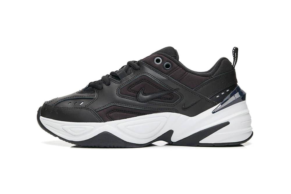 17ff61fd3dc Nike M2K Tekno Black White Monochrome Chunky Dad Shoe Sneaker