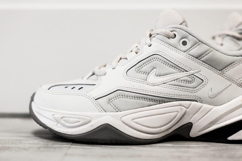 big sale 175c5 77bca Nike M2K Tekno Phantom White Chunky Dad Sneaker Review