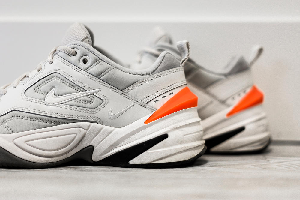 big sale 29f17 fe230 Nike M2K Tekno Phantom White Chunky Dad Sneaker Review