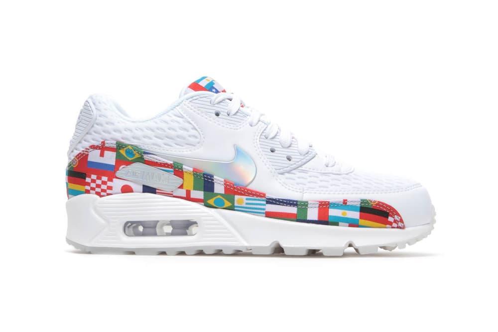 Nike NIC Air Max 90 White Flags