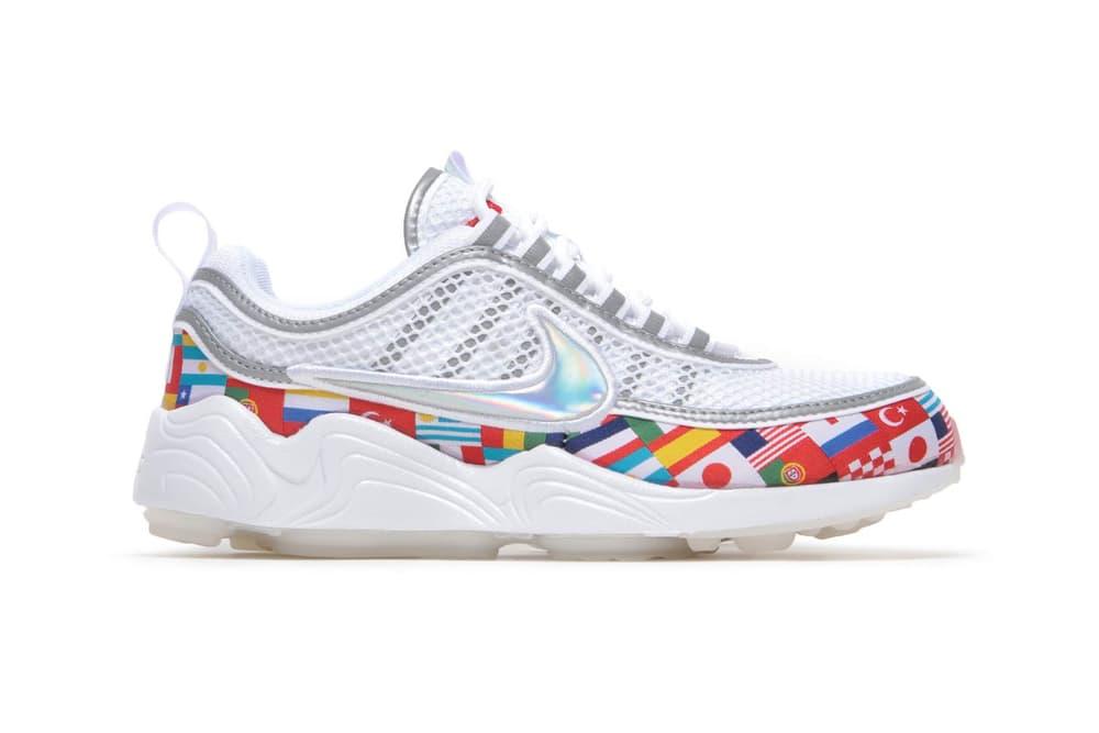Nike NIC Air Zoom Spiridon White Flags
