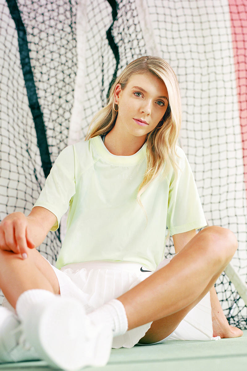 Nike Wimbledon Tech Pack Campaign Katie Boulter Swan
