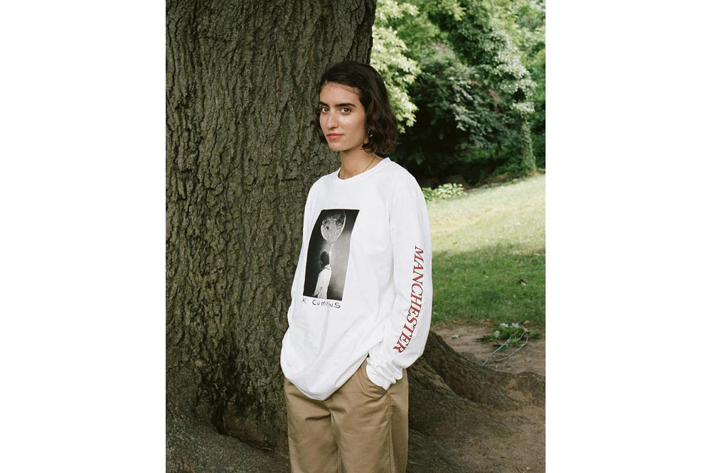Noah x Kevin Cummins Collaboration Long sleeved T-shirt White