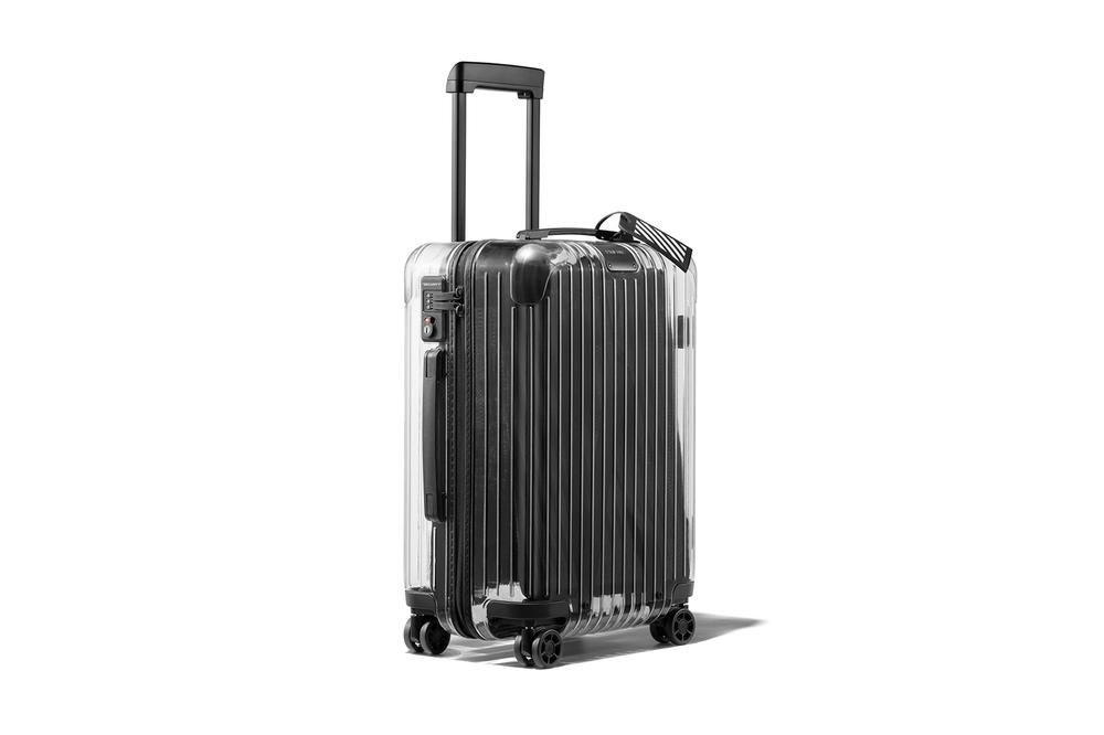Off-White™ Virgil Abloh RIMOWA Transparent Suitcase Luggage Collaboration