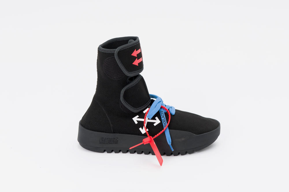 Off-White™'s New Scuba Boot Sneakers Footwear Shoes Laces Zip Tie