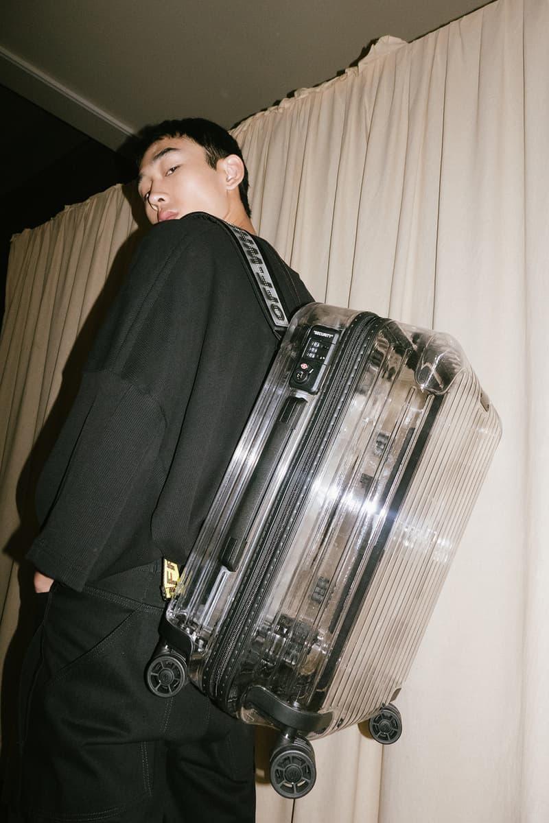 Off-White Virgil Abloh Rimowa Transparent Suitcase Luggage Collaboration