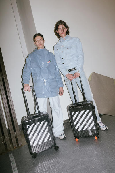 Off-White Virgil Abloh Rimowa Transparent Suitcase Luggage Collaboration