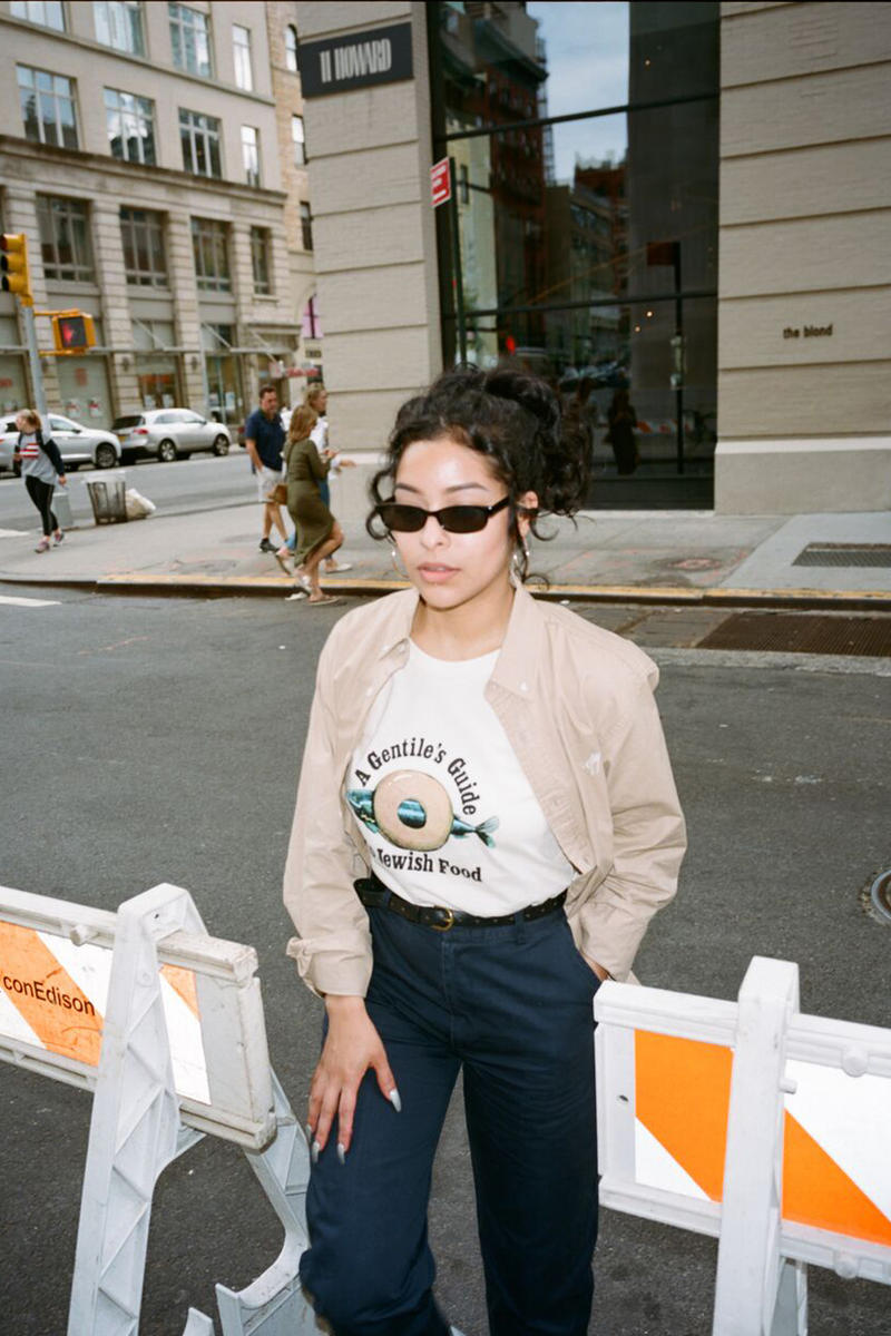 ONLY NY x New York Magazine Collaboration Psychedelic Gentile's T-shirt Natrual