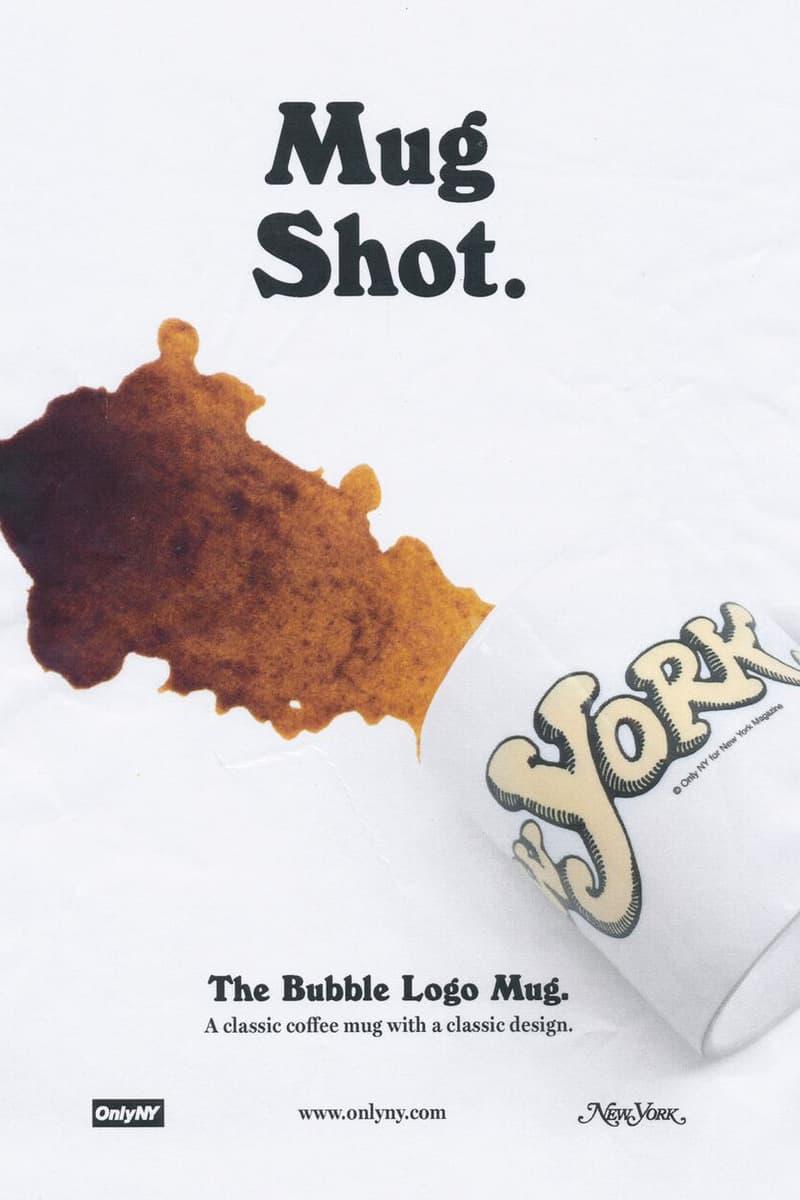 ONLY NY x New York Magazine Collaboration Bubble Logo Mug White