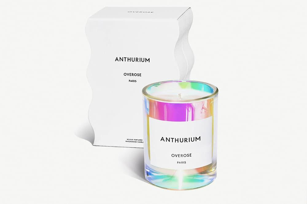 Overose Holographic Candles Nudesse Valkiria Anthurium