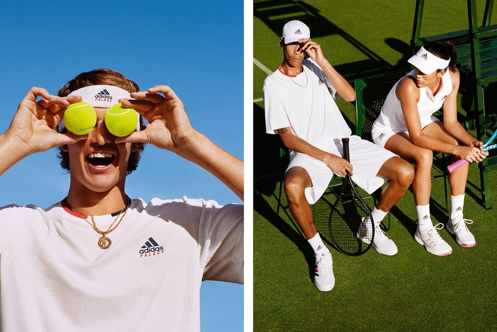 palace adidas originals tennis collaboration collection wimbledon blondey mccoy