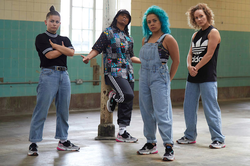 pam pam London adidas Originals Falcon B-Girl Dance Campaign
