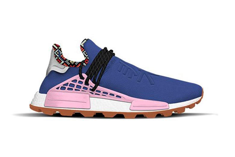 Pharrell Williams x adidas Originals Hu NMD Inspiration Pack Powder Blue Light Pink Orange