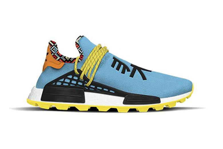 Pharrell Williams x adidas Originals Hu NMD Inspiration Pack Clear Sky Core Black Bold Orange