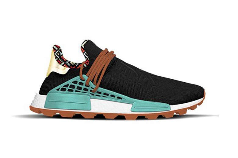 Pharrell Williams x adidas Originals Hu NMD Inspiration Pack Black Clear Blue Orange