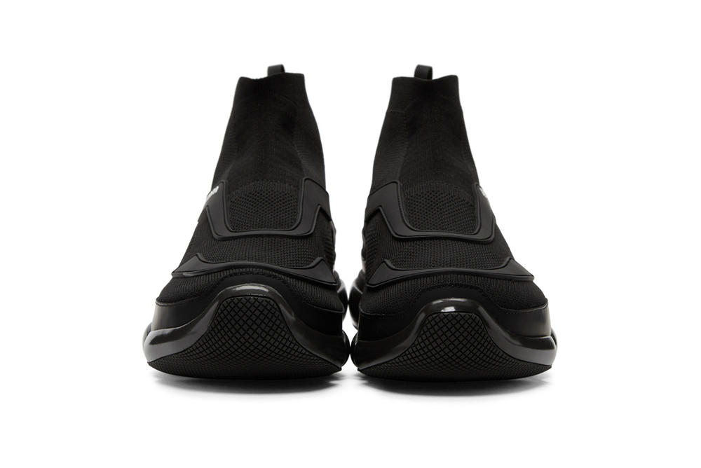Prada High Top Cloudbust Black