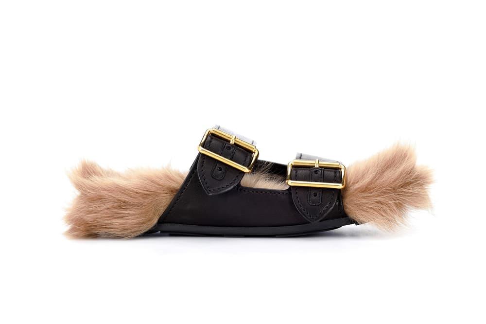 Where to Buy Prada's Fur-lined Leather Sandals Miuccia Prada Shoes Birkenstock Summer Fall