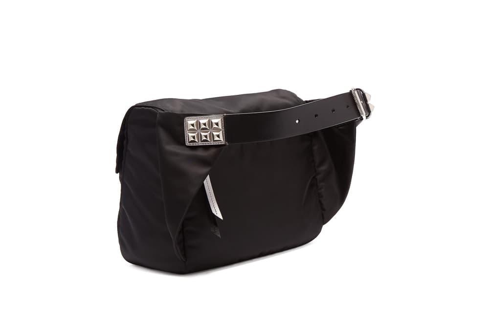 Prada Over-Sized Nylon Belt Bag Miuccia Prada Luxury Designer Bag Crossbody