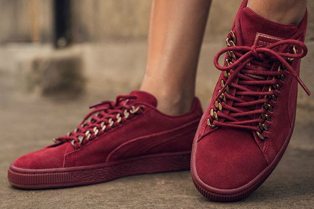 PUMA Releases Badass Suede Chain in