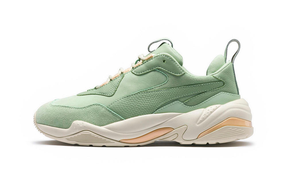 PUMA Thunder Desert Particle Beige Mint White Black