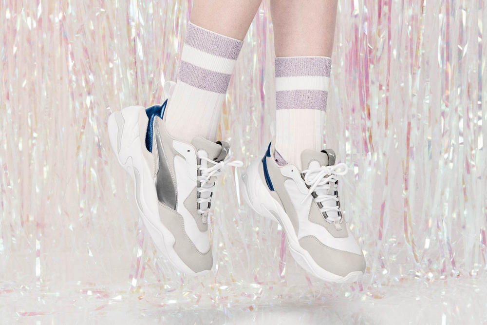 4407e46506af PUMA Thunder Electric Pink Lavender Gray Violet