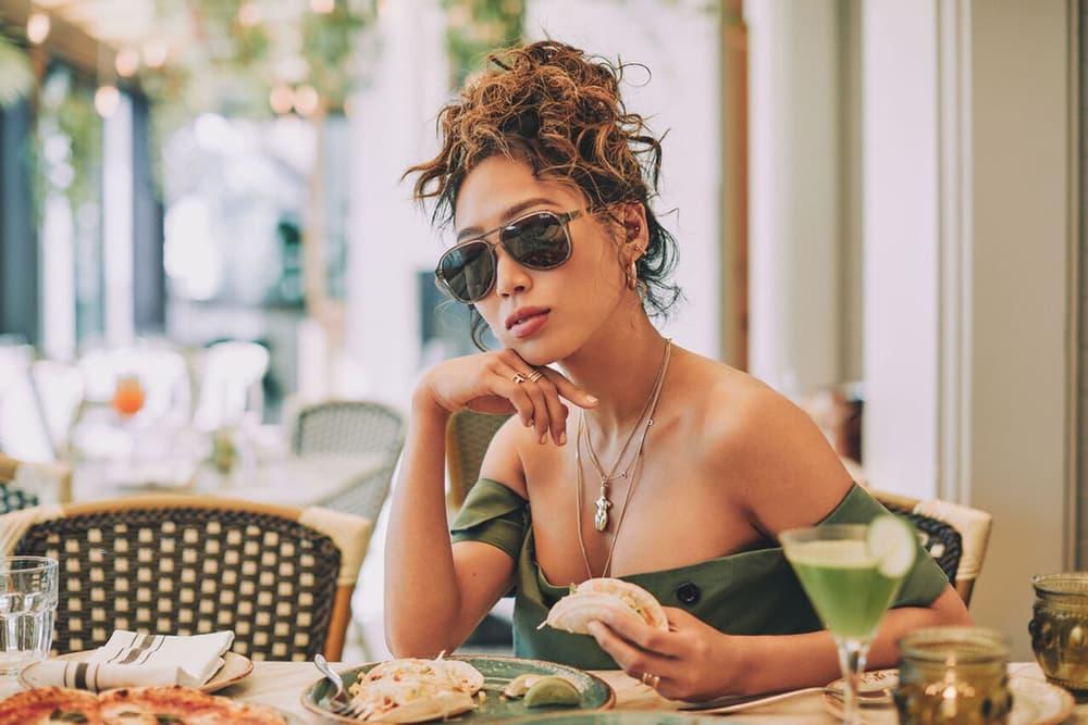 Quay Australia June 2018 Capsule Collection Campaign Aimee Song UNDER PRESSURE Black Pink Revo