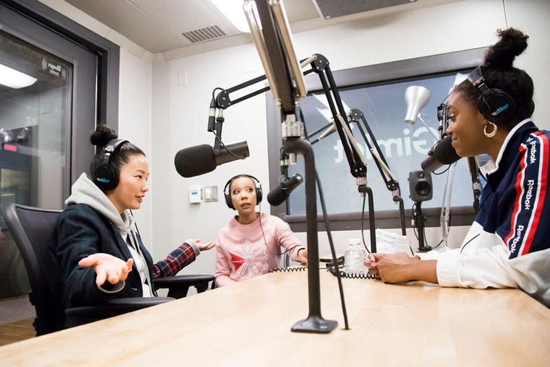 Reebok Gimlet Podcast Series Sophia Chang Jazerai Allen-Lord Scottie Beam