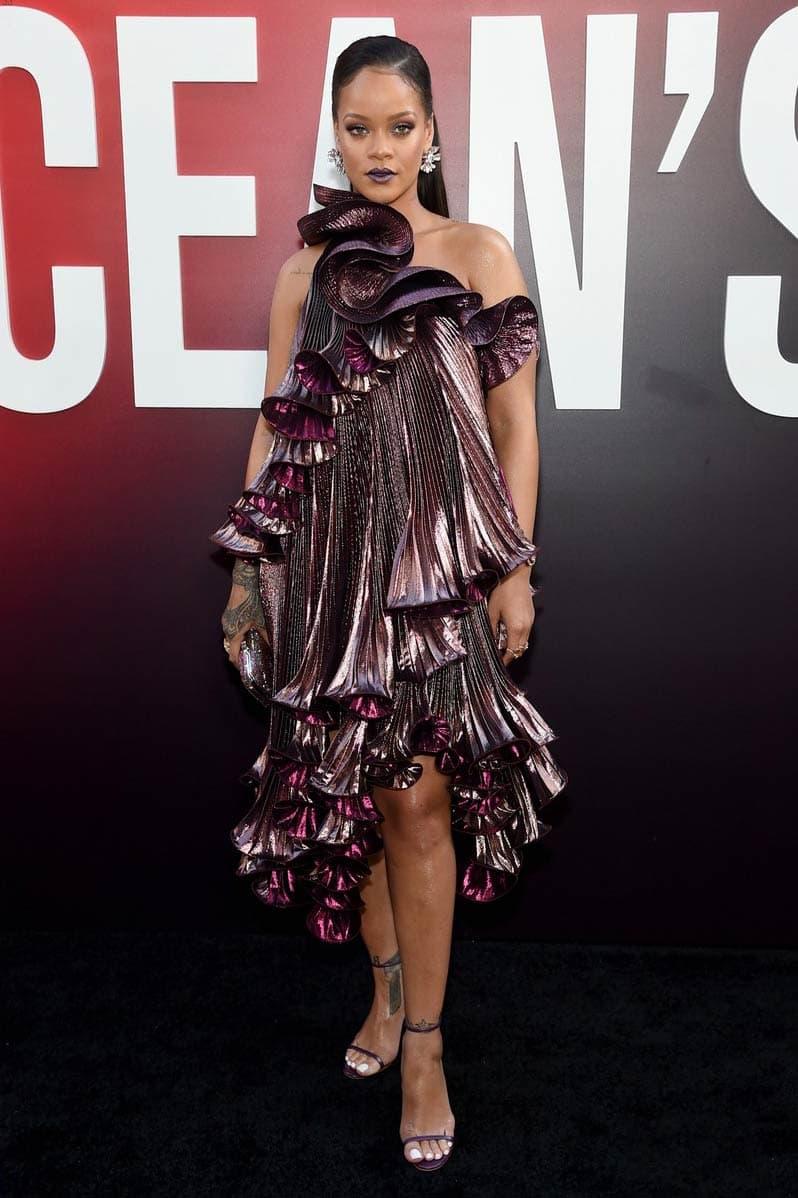 Rihanna Ocean's 8 Premiere Makeup Fenty Beauty