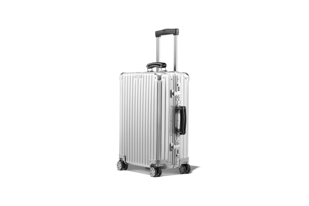 RIMOWA's New Travel Suitcase Collection Luggage Bag Vacation Summer Red Black White Silver Aluminium Design