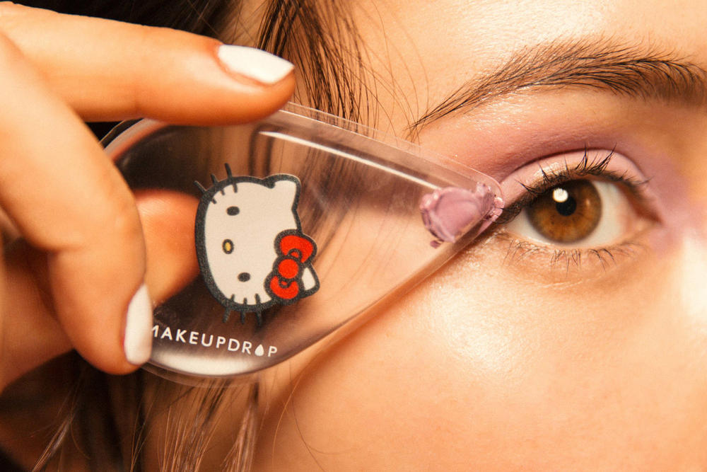 Hello Kitty Sanrio MakeupDrop Silicone Beauty Applicator