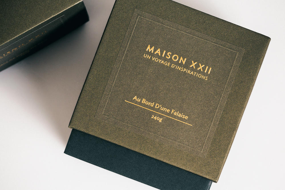 maison xxii scented candles southern france